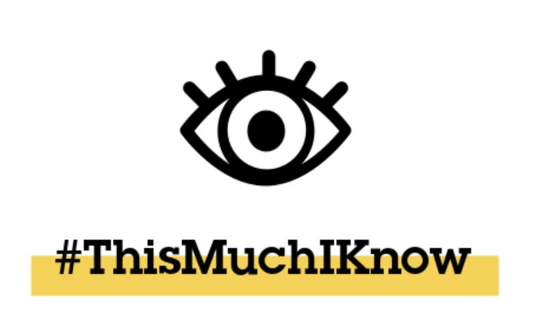 ThisMuchIKnow