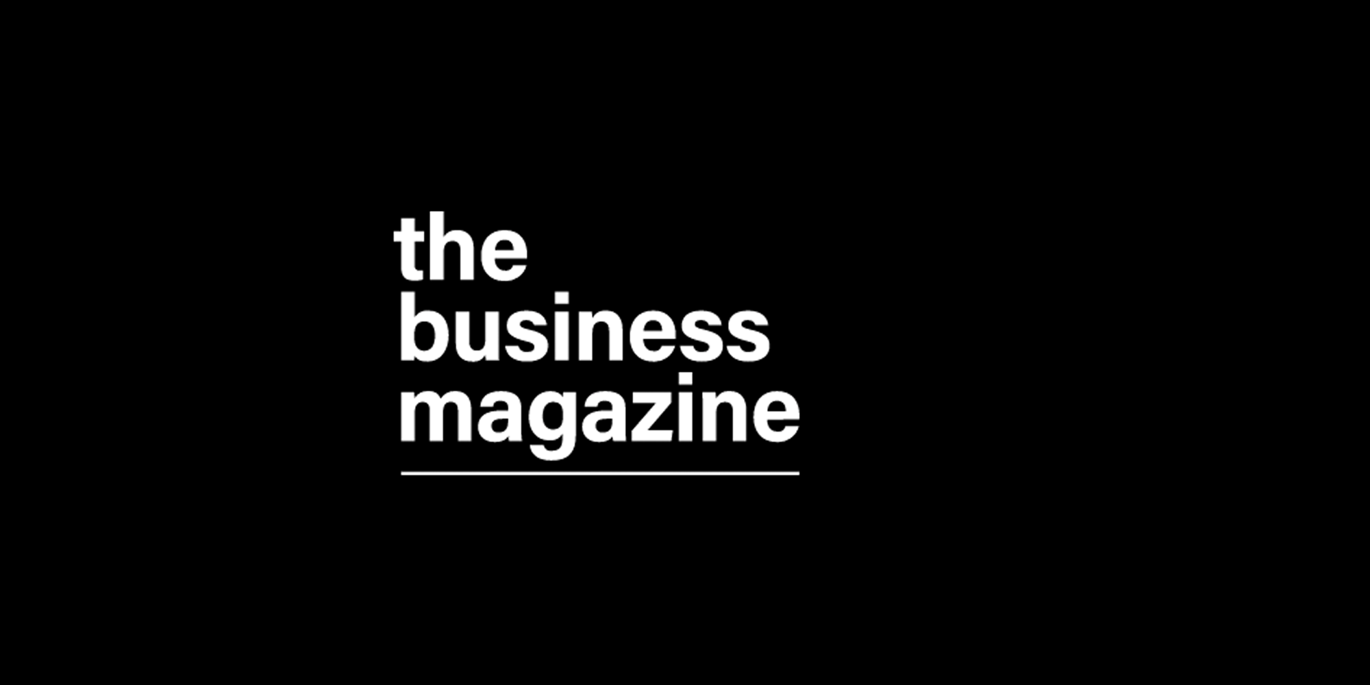 The Business Magazine (Black Ox Media & Events)